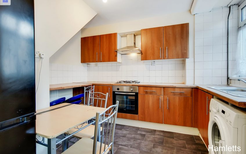 Hamletts is delighted to offer this spacious ground floor maisonette situated in the heart of Bricklane,
